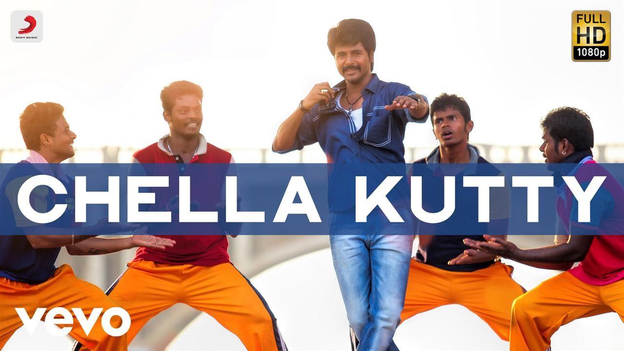 Chella Kutty Unna Kaana Song Poster