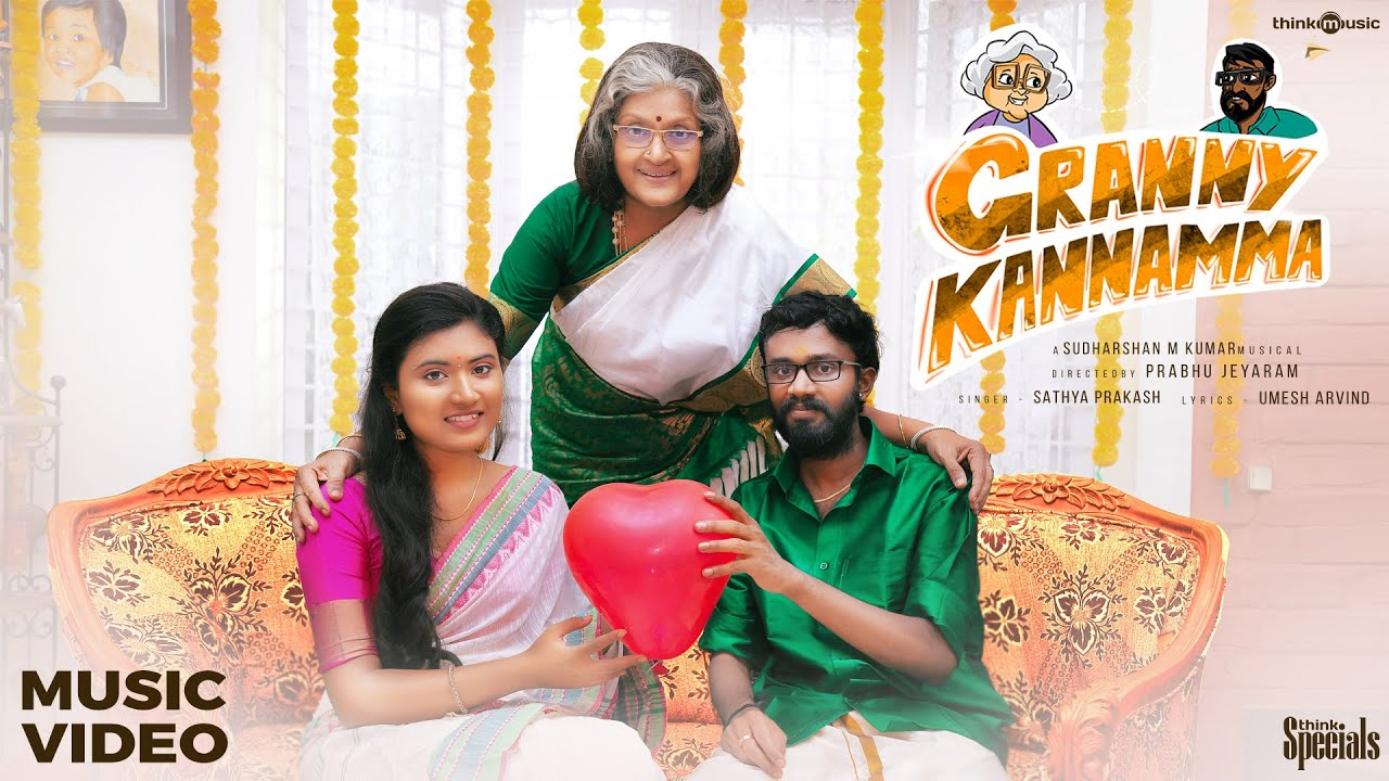 Granny Kannamma Song Poster
