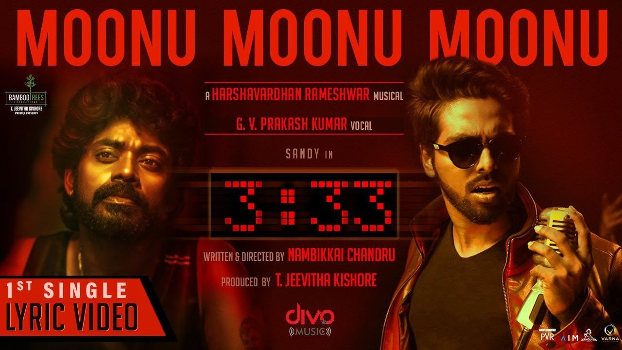 Moonu Moonu Moonu Song Poster