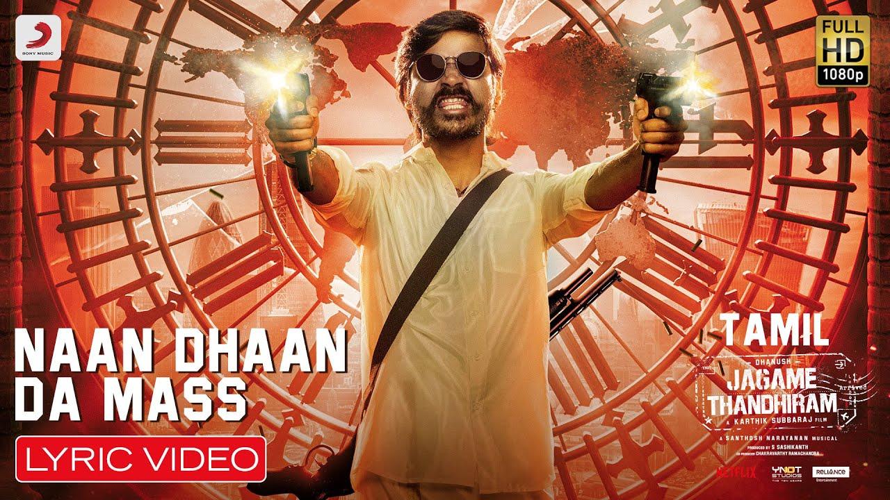 Naan Dhaan Da Mass Song Poster