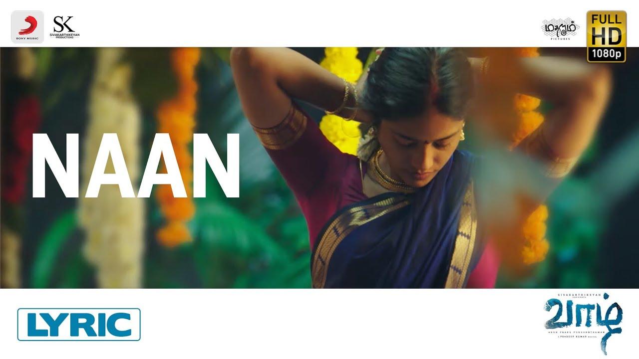 Naan Song Poster