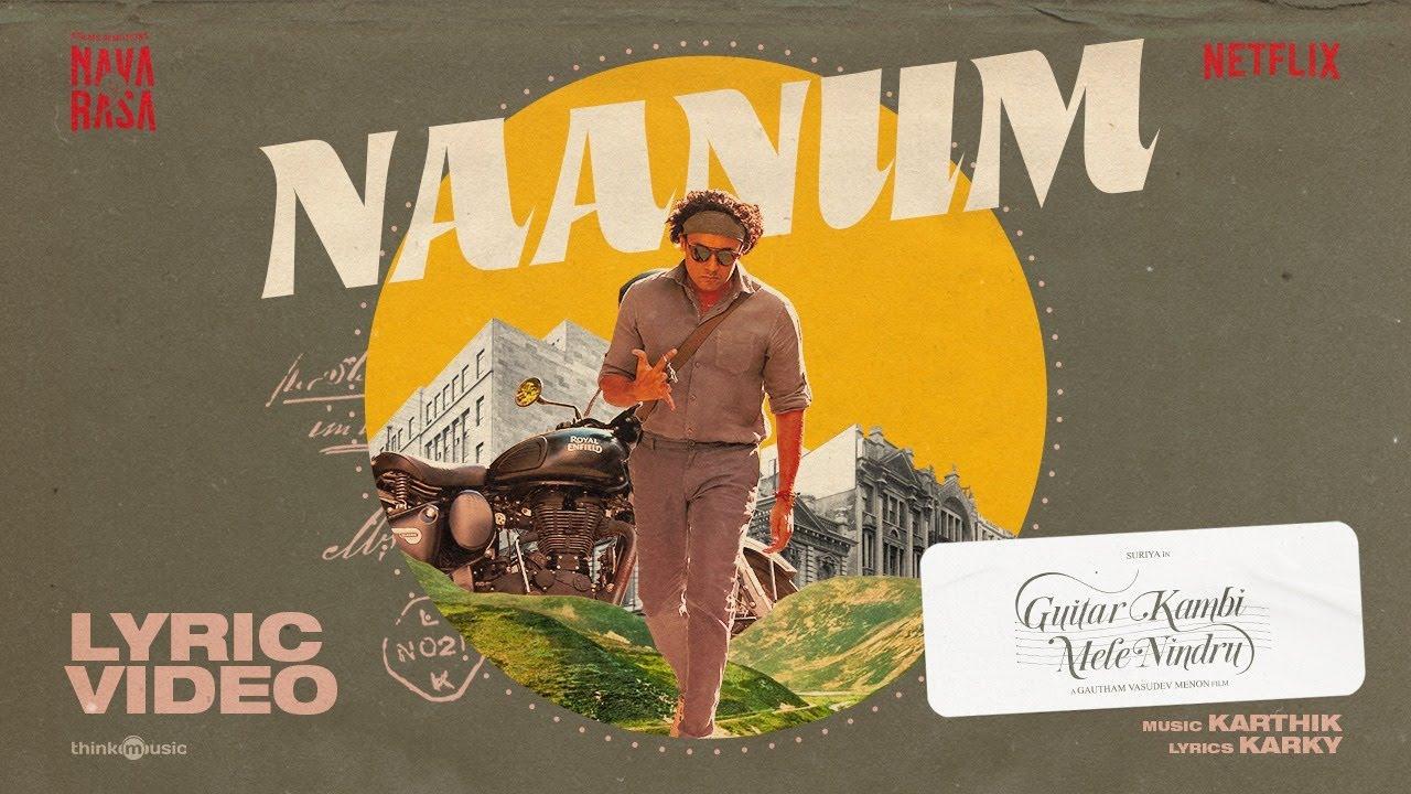 Naanum Song Poster