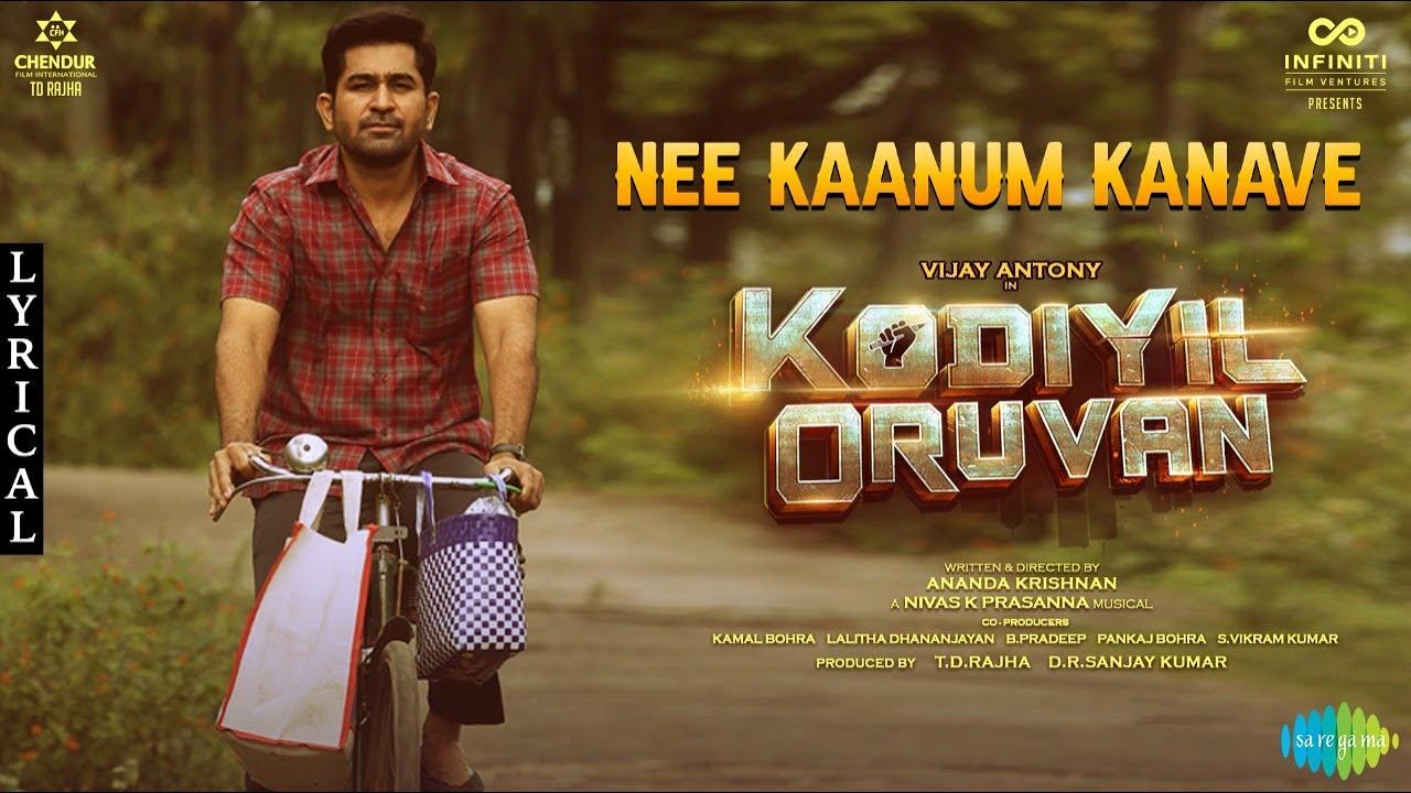 Nee Kaanum Kanave Song Poster