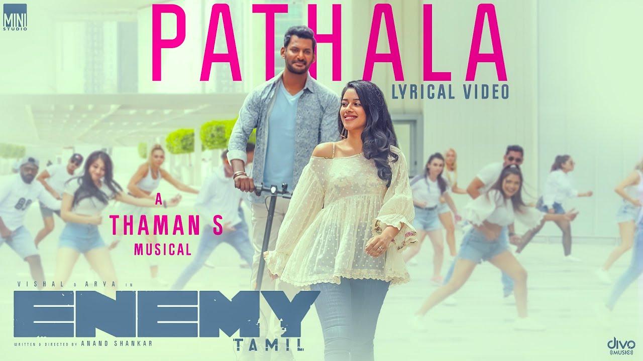 Pathala Song Poster