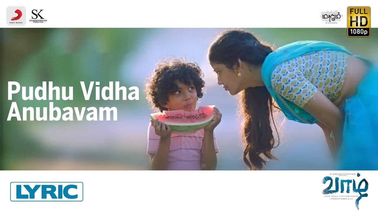 Pudhu Vidha Anubhavam Song Poster
