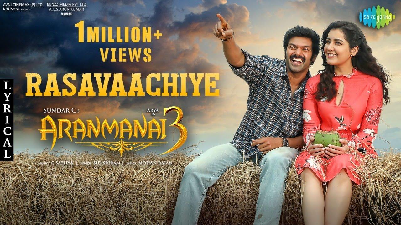 Rasavaachiye Song Poster