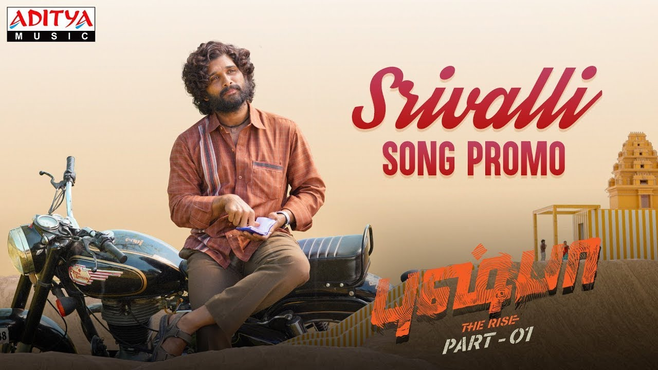 Srivalli Song Poster