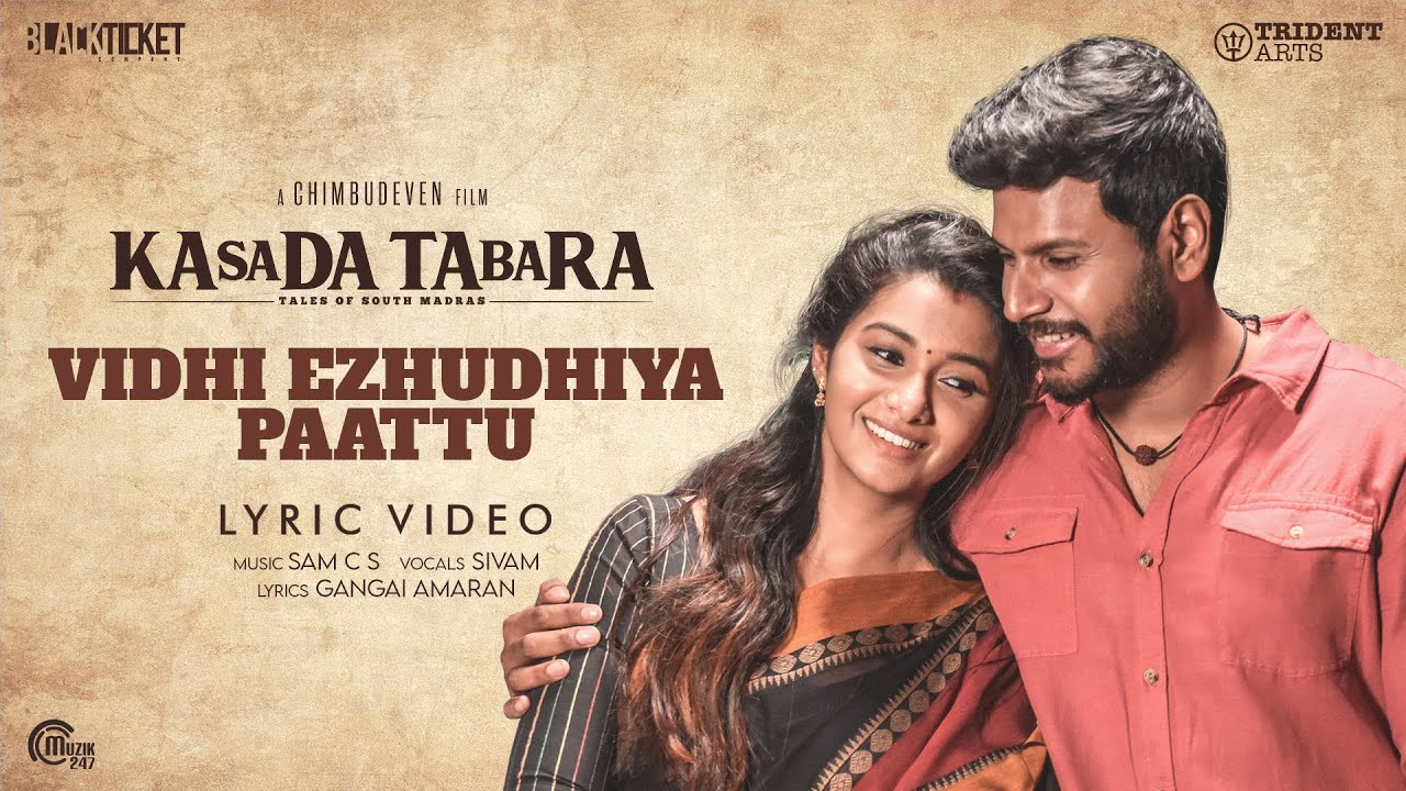 Vidhi Ezhudhiya Paattu Song Poster