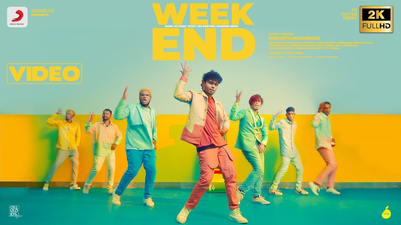 Weekend Tamil Song Poster